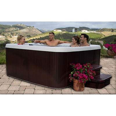 LifeSmart Valencia 350 5 Person Plug n Play Spa w/Premium Upgrade Package, Original Price $2999.00