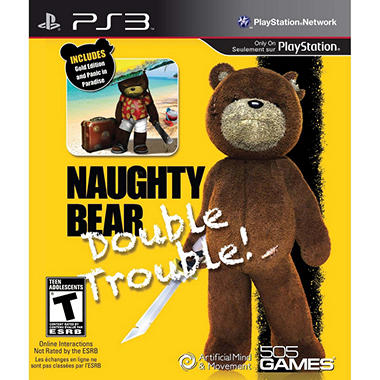 Naughty Bear: Double Trouble - PS3