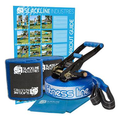Slackline Industries 50ft Fitness Line Kit