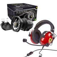 Thrustmaster 458 Wheel and Scuderia Headset Deals