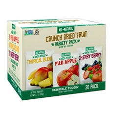 Sensible Foods Crunch Dried Fruit (6.7 oz., 20 ct.)