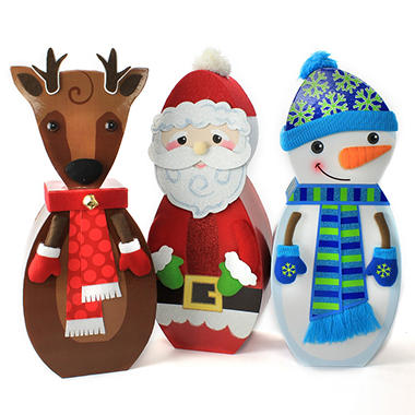 Holiday Character Tower Gift Set - 50 oz.