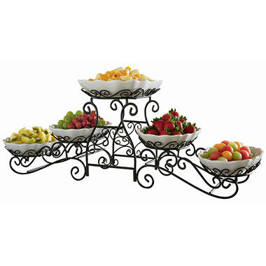 Tiered Gourmet Server