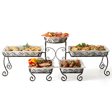 Tiered Buffet Server