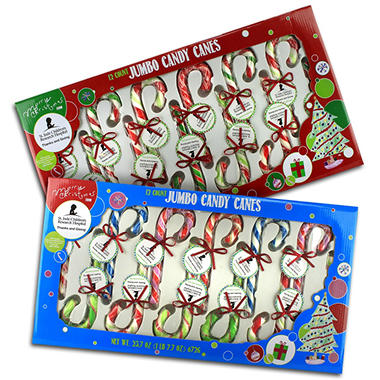 St. Jude Jumbo Candy Canes - 12 pk.