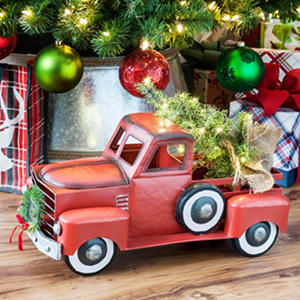 red christmas truck sam's club
