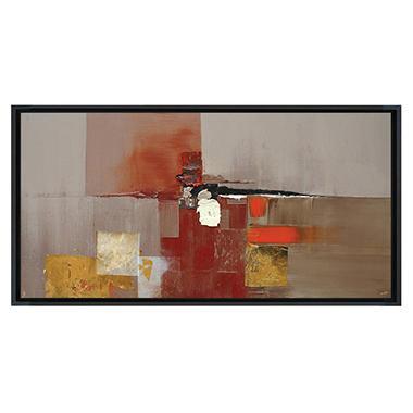 Framed Hand Painted Oil Art
