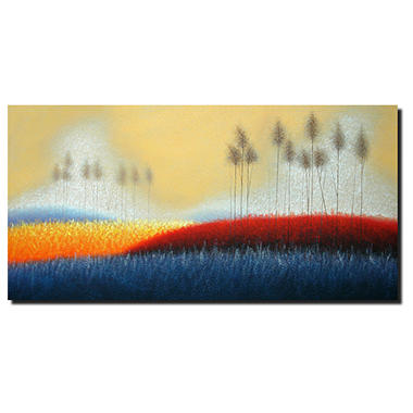 Hand Painted Oil Art -