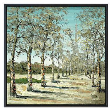 Framed Hand Painted Oil Art -
