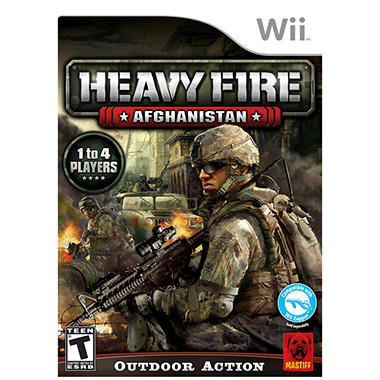 Heavy Fire: Afghanistan - Wii