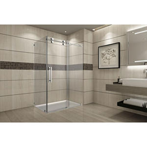 Aston Warwick Sliding Shower Enclosure (Stainless Steel Finish)