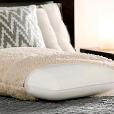 Dreamfinity Sherpa & Memory Foam Luxury Bed Pillow