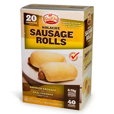 Great Day Breakfast Kolaches Cheddar Cheese-20ct