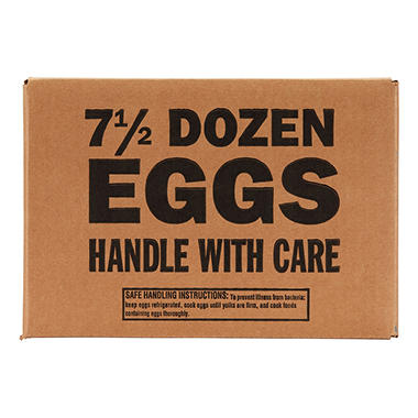 Country Brook Large AA Eggs - 7.5 dozen
