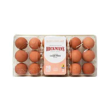 Great Day Farms Cage Free Brown Eggs - 18 ct.