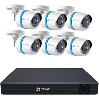 Ezviz 8 Channel 1080p Hd Ip Nvr Security System With 2tb