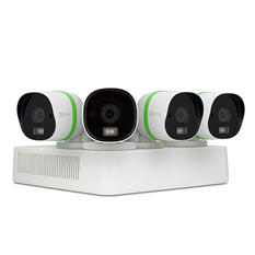 EZVIZ 4-Channel 3MP Ultra HD EXIR Security System with 1TB HDD,  4x 3MP Weatherproof Bullet Cameras, 100' Night Vision