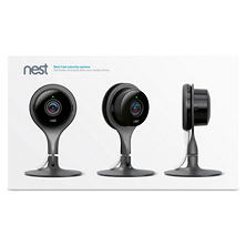 Nest Cam Security Camera - 3 Pack w/ Waterproof Dropcase
