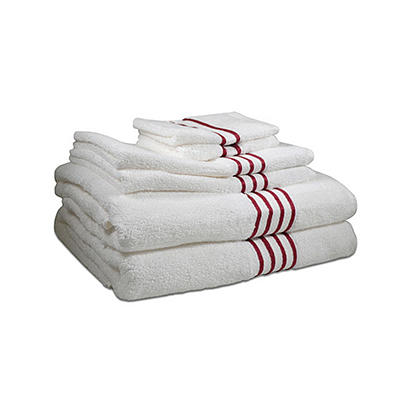 Pima Cotton Towel 6 Piece Set - Various Colors