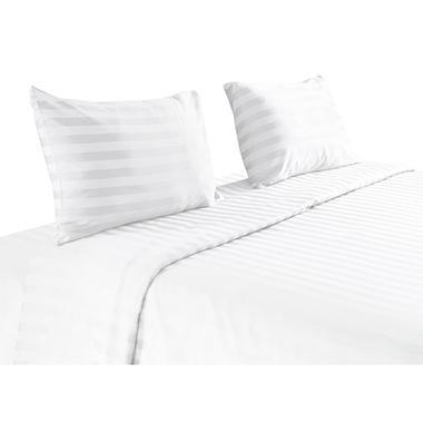 Pima Cotton 820 Thread Count 4-Piece Sheet Set, White (King)