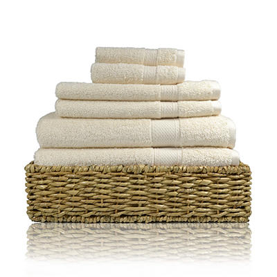 Color Tru Towel 6-Piece Set  (Various Colors)