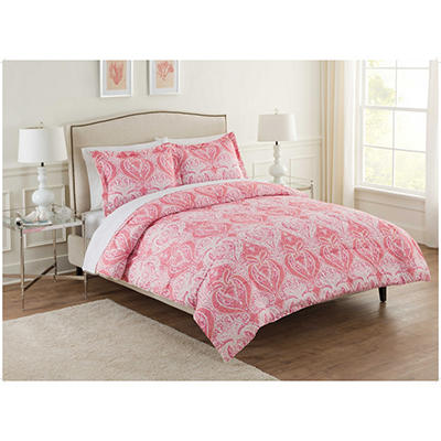 Ellen Tracy Adira 3-Piece Comforter Set - Various Sizes
