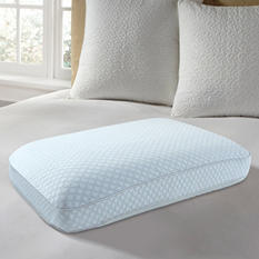 """EUROPEUDIC™ Big & Soft Cooling Gel Ventilated Memory Foam Gel Pillow with 2"""" Gusset"""