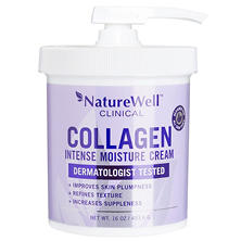 Naturewell Clinical Collagen Intense Moisture Cream (16 oz.)
