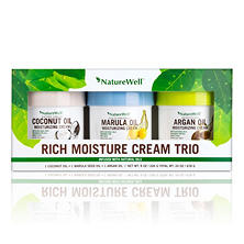NatureWell Rich Moisture Cream Trio, Various Flavors (8 oz., 3 pk.)