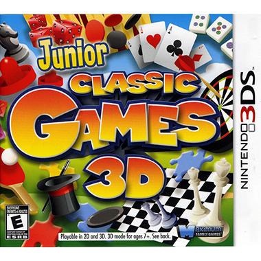 Junior Classic Games - 3DS