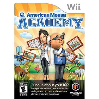 American Mensa Academy - Wii