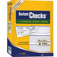 Instant Checks - Form 3000 Business Standard - Blue Prestige - 250 Sheets