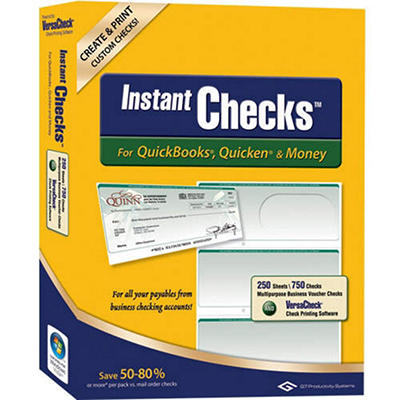 Instant Checks - Business Standard - Green 250 pk.