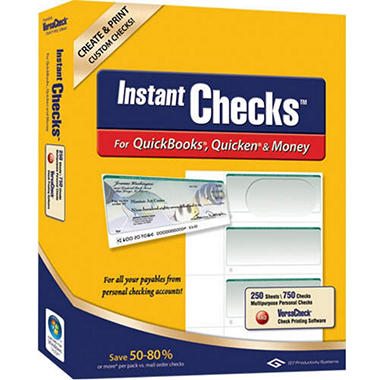 Instant Checks - Personal Wallet - Green 250 pk.