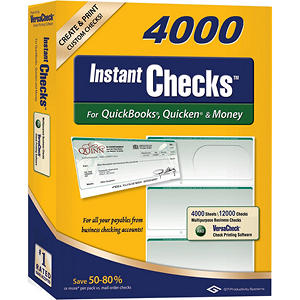 Instant Checks - Form 3000 Business Standard - Green Graduated - 4000 Sheets