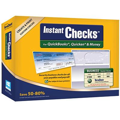 Instant Checks - Business Voucher - Blue 500 pk.