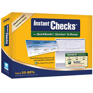 Instant Checks - Business Voucher - Blue 500 pk.