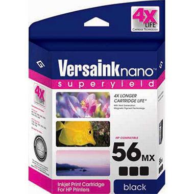 VersaInk Nano™ 4X Life MICR Ink - 56MX Black