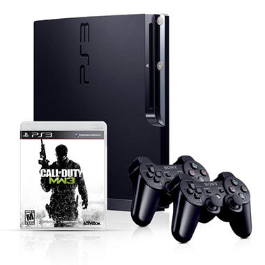 PS3 320GB Call of Duty: Modern Warefare 3 Bundle with Bonus Extra Black Controller