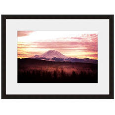 Framed Fine Art Photography - Purple Mountain's Majesty by Sylvia Cook