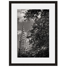 Framed Fine Art Photography - Chrysler Building Gotham at Night by Vincent Versace