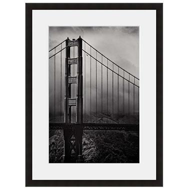 Framed Fine Art Photography - Golden Gate Through the Fog by Vincent Versace
