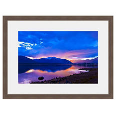 Framed Fine Art Photography - Mirror Lake Mountain Morning By Blaine Harrington