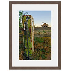 Framed Fine Art Photography - Pump Out To Pasture By Howard Paley