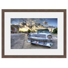 Framed Fine Art Photography - Old Chevy In a Small Town by Tracy Carlson