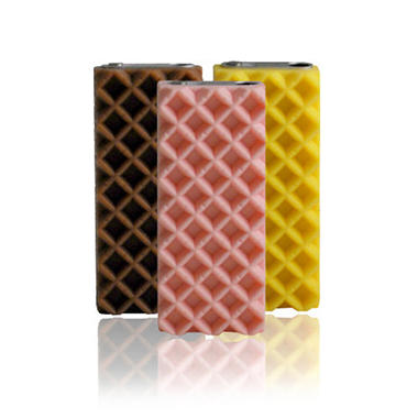 Incipio iPod shuffle 3G Incipio Wafer 3 Pack Series Case- Multi
