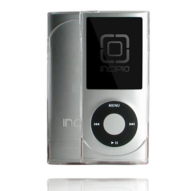 Incipio iPod nano 4G EDGE Hard Shell Slider Case- Clear