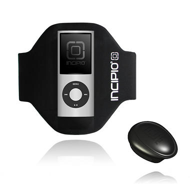Incipio iPod nano 4G Sport Armband- Black (Short)
