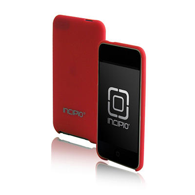 Incipio iPod touch 2G feather Ultralight Hard Shell Case- Red