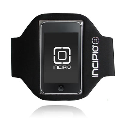Incipio iPod touch 2G Sport Armband- Black (Long)